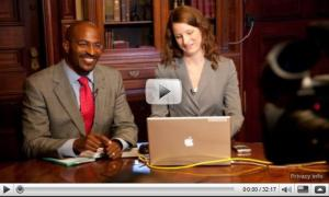 Van Jones discusses green jobs and a clean-energy economy at the White House