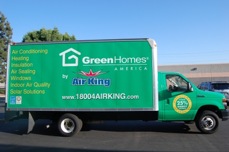 Loaded and ready to make California homes more comfortable and energy-efficient