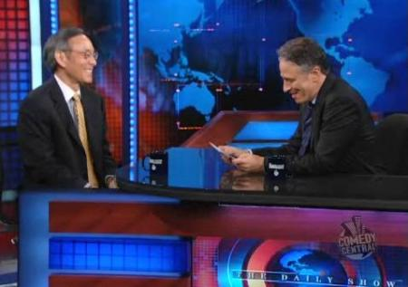 Steven Chu on The Daily Show
