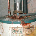 Your water heater doesn't have to look this bad to be spilling dangerous carbon monoxide into your home.  Get it checked.