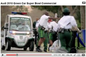 Green Police Video