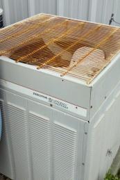 Weathered AC unit