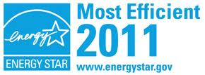 ENERGY STAR Most Efficient 2011 Logo