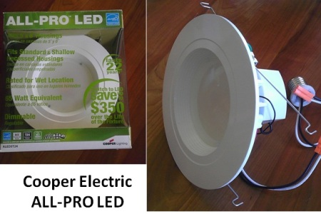 Cooper Lighting All-Pro LED Fixture